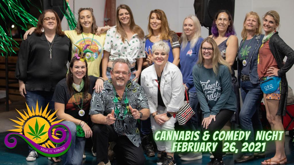 Cannabis & Comedy Group Shot