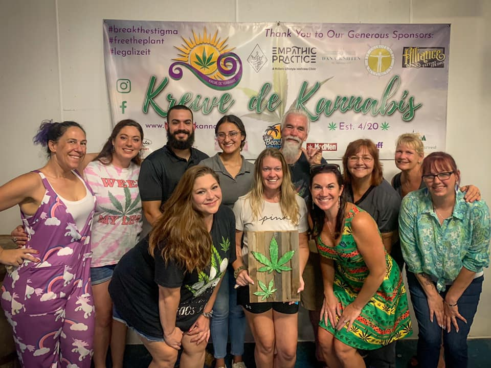 Cannabis & Canvas Fundraiser